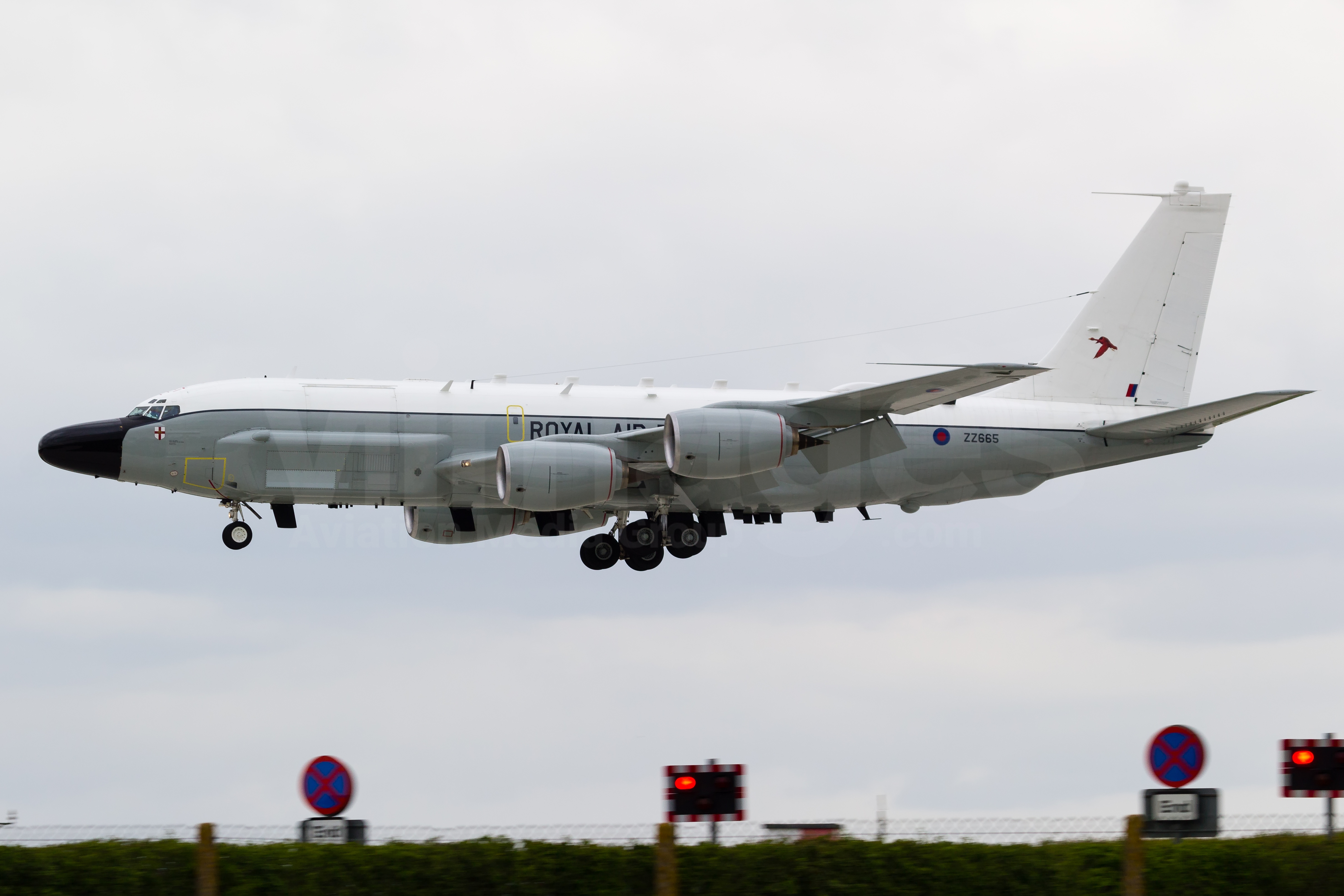 Royal Air Force Boeing RC-135W Rivet Joint ZZ665