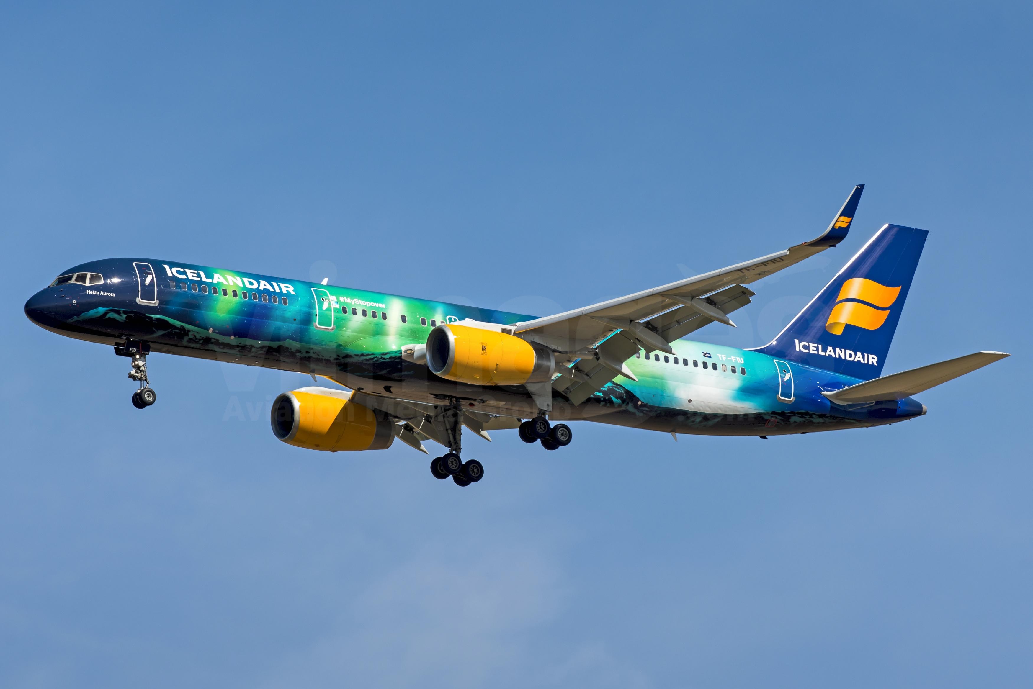 Icelandair Boeing 757-256 TF-FIU – v1images Aviation Media ...  Icelandair Boei...