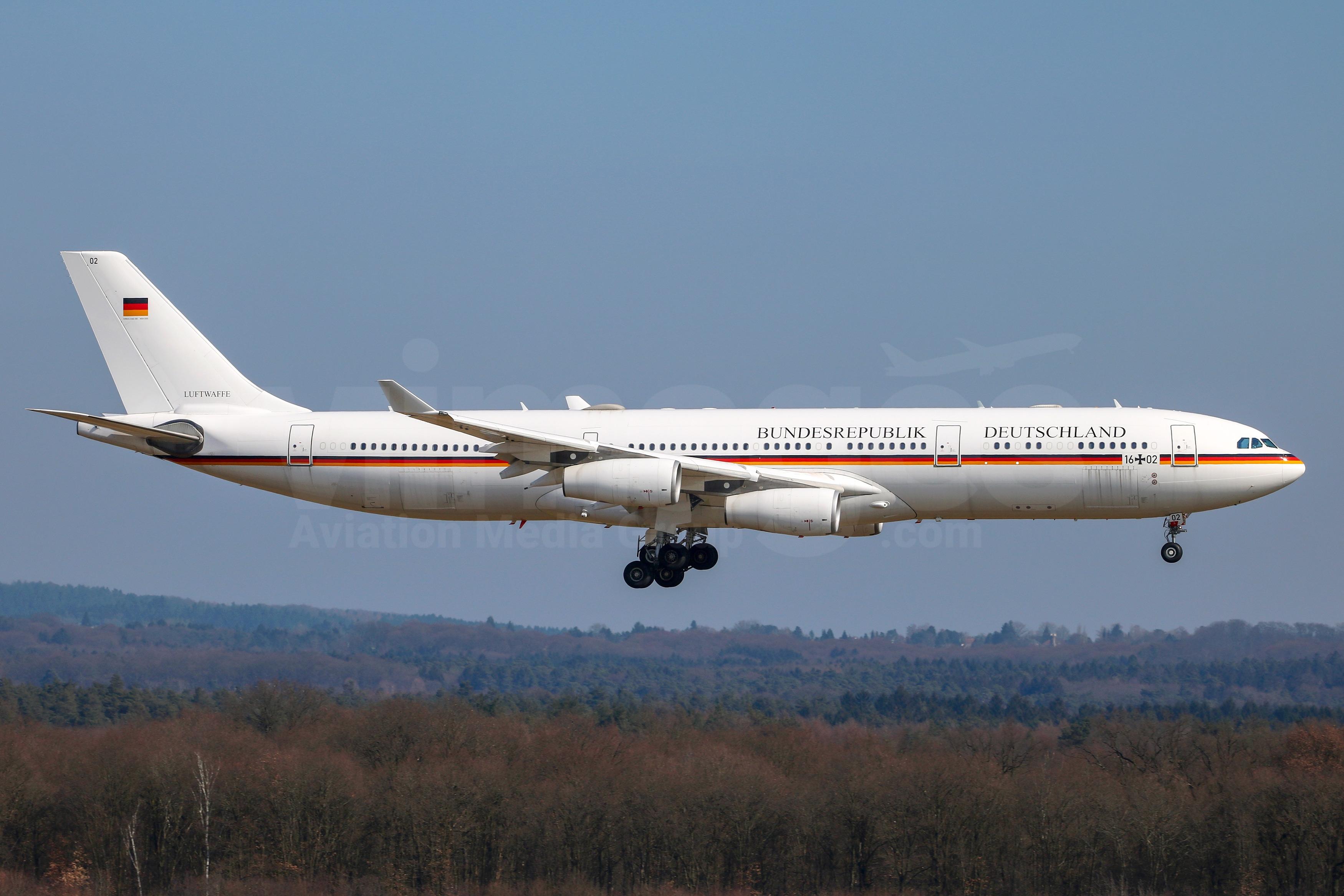 German Air Force Airbus A340-313 16+02