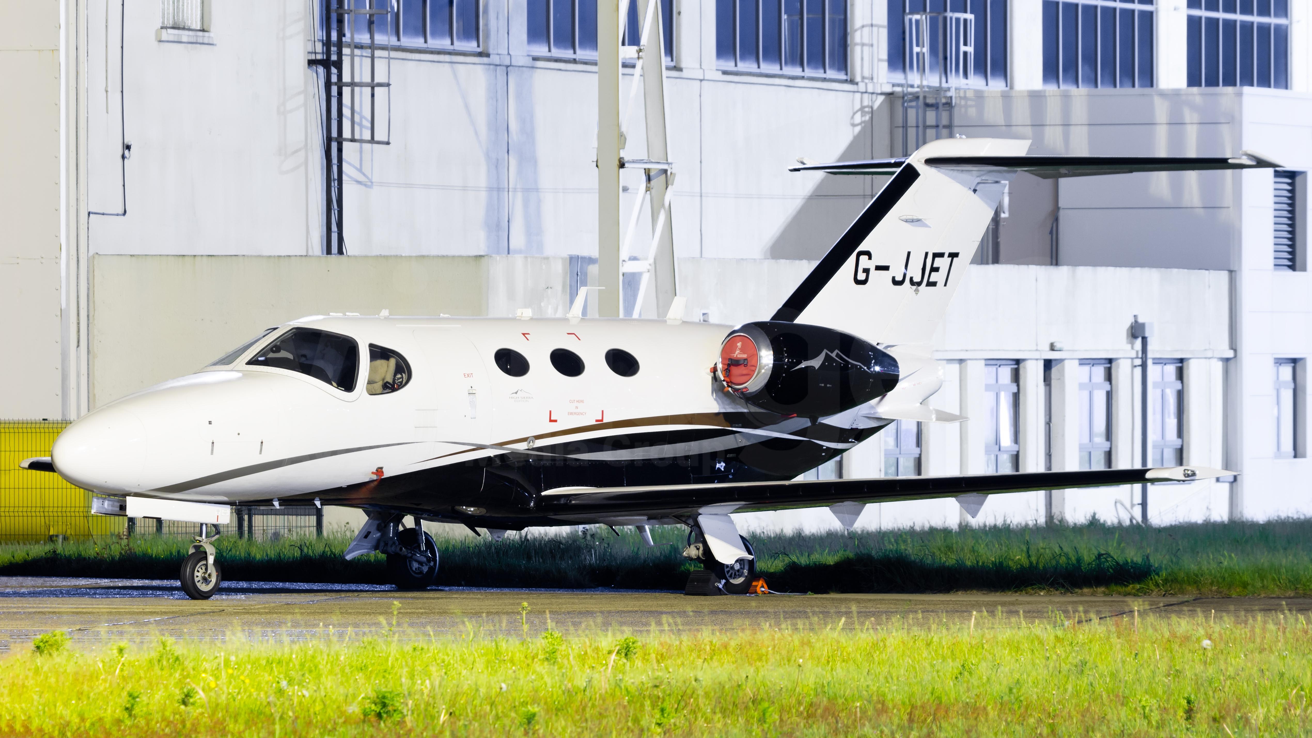 Private Cessna 510 Citation Mustang G-JJET