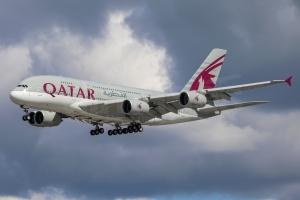 Qatar Airways Airbus A380-861 A7-APE