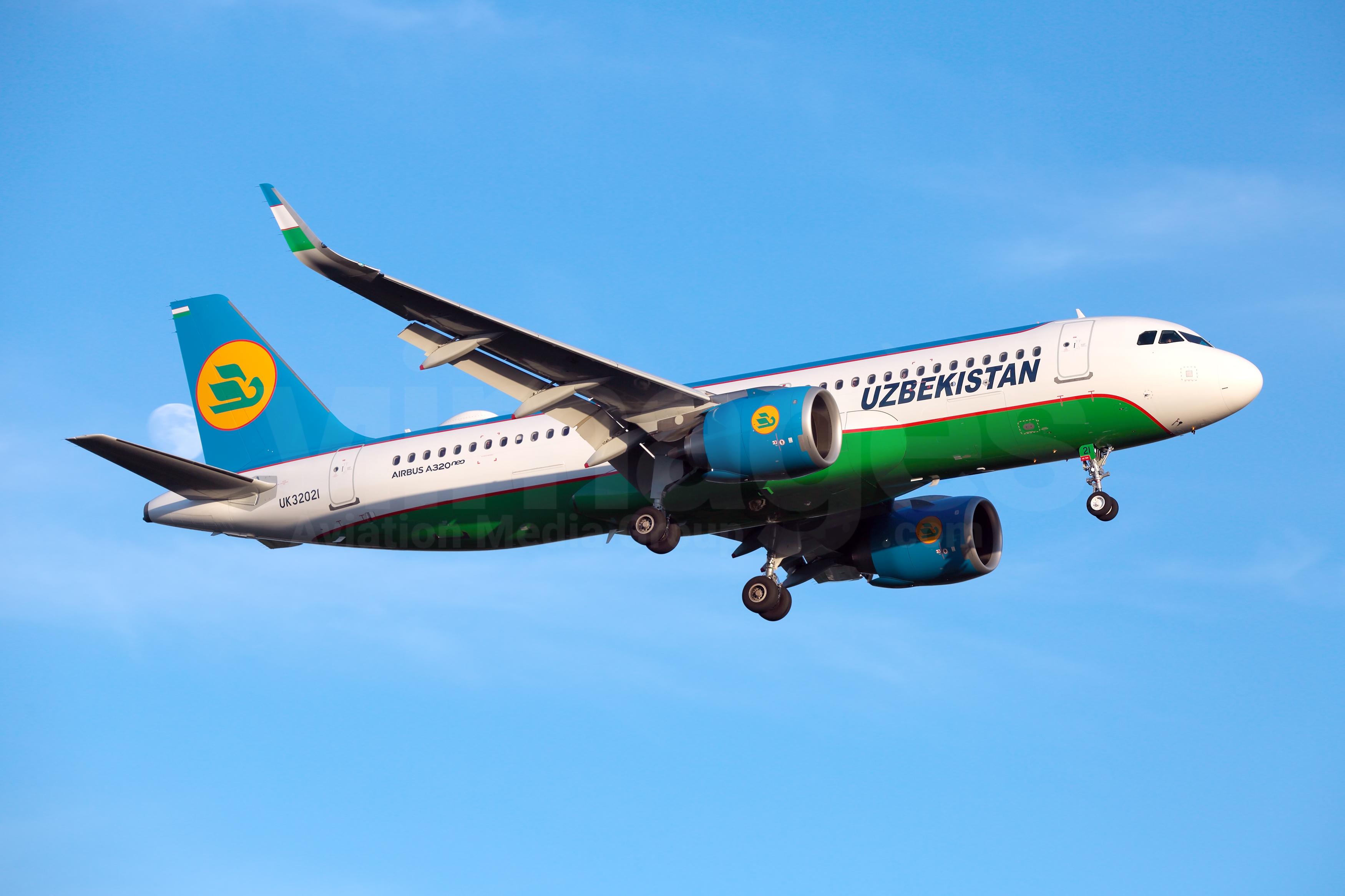 Resultado de imagen para UZBEKISTAN AIRWAYS a320NEO