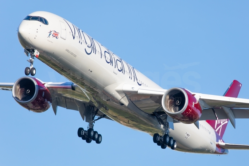 Airbus A350-1000 deliveries mean the Virgin Atlantic Fleet is more fuel efficient than it ever has been. Image © v1images.com/Clément Alloing