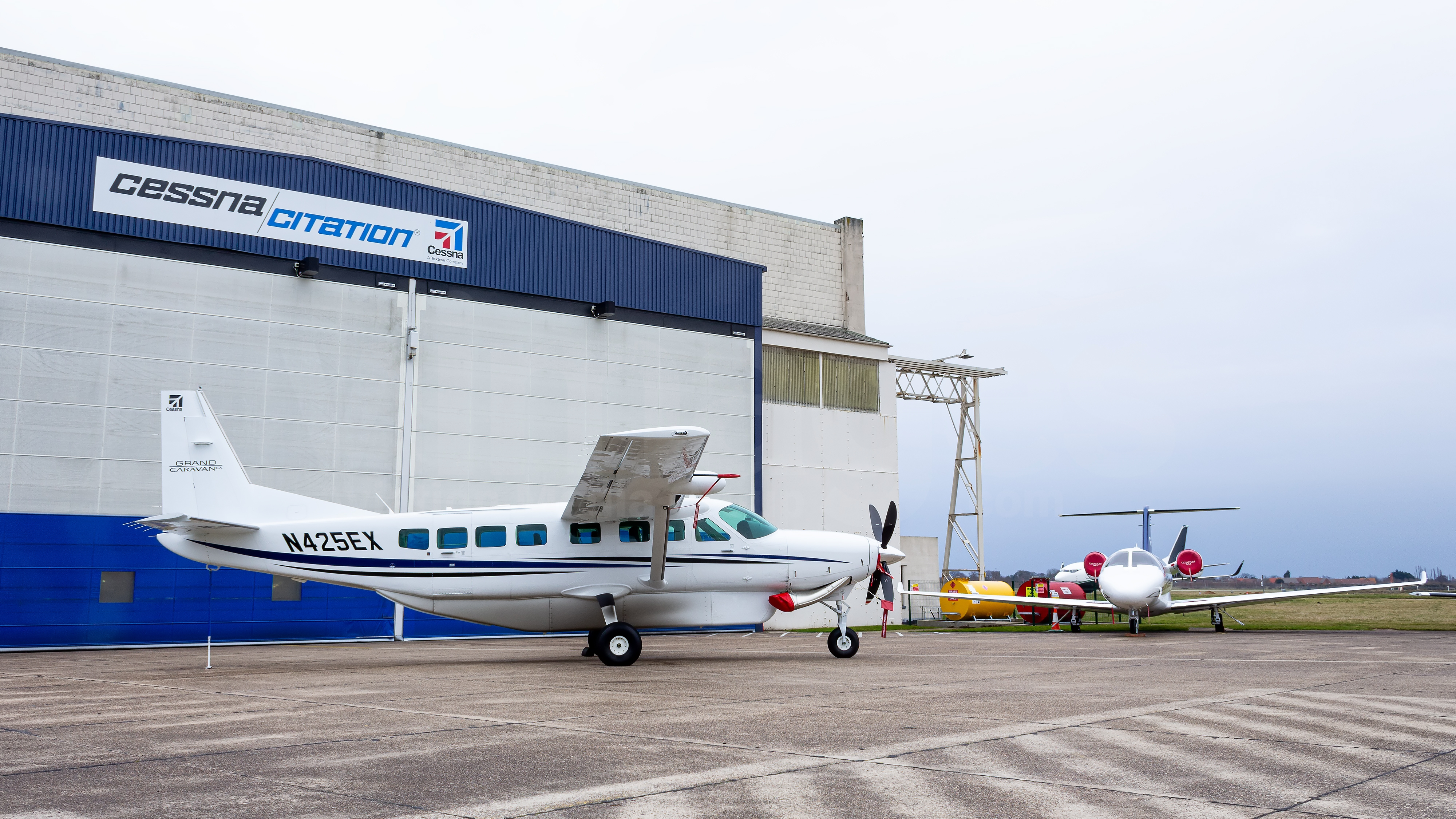 Textron Aviation Cessna 208b Grand Caravan Ex N425ex V1images Aviation Media