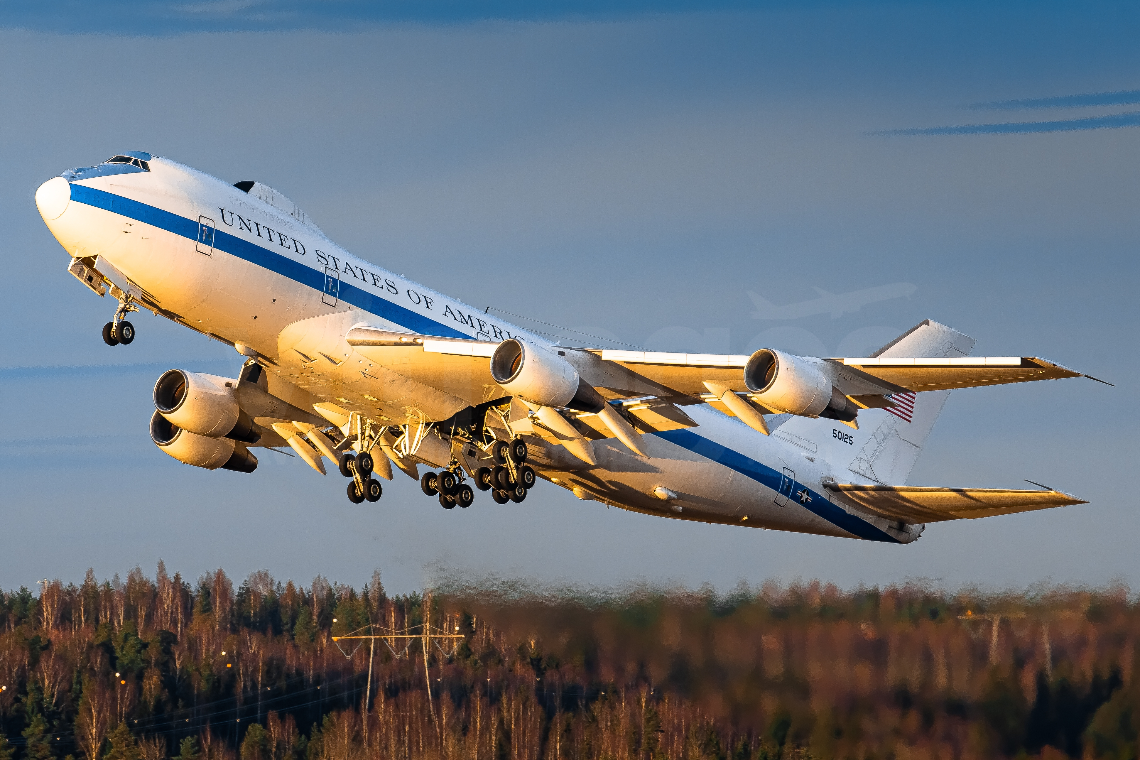 Usa Air Force Boeing E 4b 75 0125 V1images Aviation Media