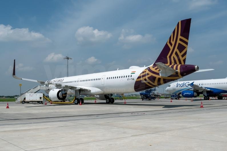VT-TVA on the ground at Delhi Indira Gandhi International Airport. Image © v1images.com/Shrey Chopra